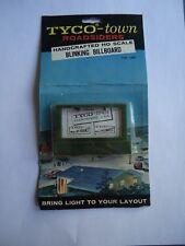 Vintage TYCO Town Roadsiders Blinking Billboard HO Scale