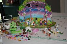 Playmobil Princess Fairies Animals Unicorns Enchanted Fairy Tale Castle Lot