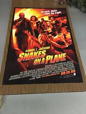 Snakes On A Plane Original Rolled Movie Poster 27x40