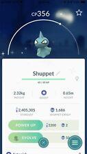 Pokemon go Trade Offer - Shiny Shuppet