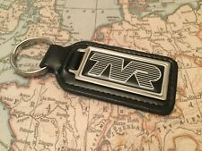 TVR Quality Black Real Leather Keyring Oblong S1 2 3 4 CHIMAERA GRIFFITH CERBERA