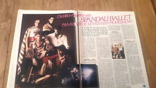 SPANDAU BALLET  2 page UK ARTICLE / clipping from Joepie Belgian magazine