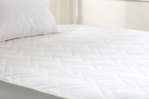 Premium 100% Natural Pure Wool Mattress Protector with Pure Cotton Covers