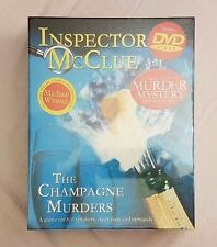 THE CHAMPAGNE MURDERS INSPECTOR McCLUE MURDER MYSTERY DINNER PARTY GAME - NEW