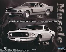 1969 1970 FORD MUSTANG MUSCLE BOSS 429 302 SPORTS CAR HOT ROD 8 X 10 PHOTO