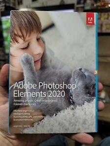* NEW * Adobe Photoshop Elements 2020 - PC/Mac Disc Version - Photo editing
