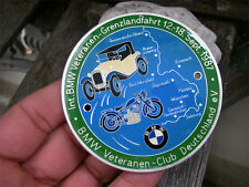 BMW - BORDERLAND RALLYE GRENZLANDFAHRT 1987 - Veteranen Club Badge