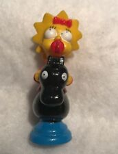 The Simpsons Chess Replacement Piece Token Cake Topper Maggie Red  Knight 1992