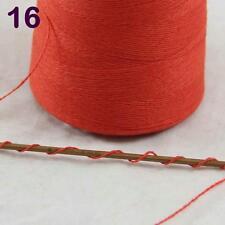 Lot of 1 cone 100g Luxurious Mongolian Pure Cashmere Knitting Yarn 16 Orange