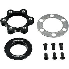 Shimano SM-RTAD05 6-bolt rotor to Centre-Lock hub disc adapter