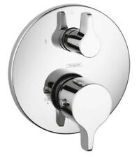 Hansgrohe -EcostatThermostatic Trim S/E with Volume Control, chrome - 04352000