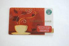 2007 Starbucks Un Momento Tuo Gift Card, No Value, Collector