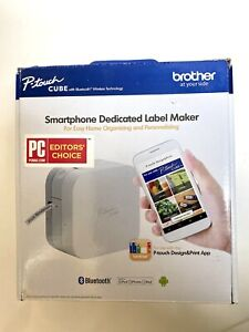 Brother P-Touch Cube Smartphone Label Maker, Bluetooth Wireless Technology New
