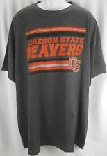 Oregon State Beavers NCAA Game Day Distress Graphics T Shirt Big And Tall Sizes