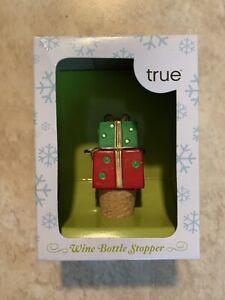 True Fabrications Celebrate the Season Christmas Presents Wine Bottle Stopper