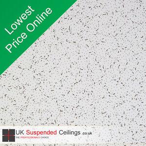 Suspended Ceiling Tiles Armstrong Cortega se 595x595mm 16 Tiles per box 600x600
