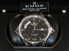 Edox Les Vauberts Day Date Automatic Sapphire Crystal Men's Swiss Watch NEW !!!!