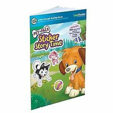 LeapFrog LeapReader Book Pet Pals Sticker Story Time Works With Tag