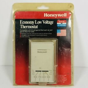 Honeywell Economy Low Voltage Thermostat CT41A Made In The USA New Old Stock