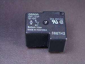 G8P-1A4P-DC12 Omron Relay SPST NO 30A 250VAC 12VDC Coil Sealed G8P-1A4P 12V DC