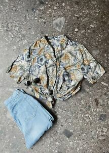Vintage 90's Pattern Blouse