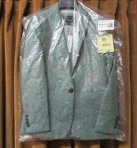 J. CREW PARKE BLAZER COLOR TEAL SIZE 0 New with Tags