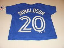 Toronto Blue Jays Kids Toddler Age 2T Josh Donaldson Name Number T Shirt MLB