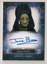 2016 Star Wars Masterworks Jerome Blake as RUNE HAAKO Autograph Auto