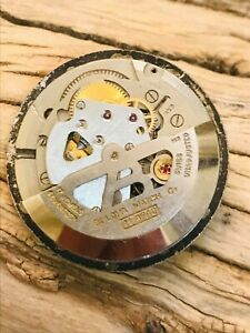 Vintage1962 Bulova  Cal.11AFAC MOVEMENT Watch Movement Runs AND STOP-PART