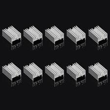 10Pcs TO-220 Aluminum Heatsink Transistor Radiator Heatsink Cooler Cooling 21MM