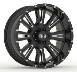 Rid R03 10x20 8x165,1 Cerchioni per Hummer H2 H1 Dodge RAM 2500 3500 Nuovo