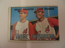 TOPPS 1967 TRIBE THUMPERS COLAVITO AND WAGNER CARD #109
