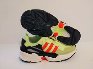 ADIDAS MEN'S YUNG-96 HI RES YELLOW /SOLAR RED/ WHITE SNEAKER EE7246 SIZE: 9.5