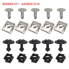 20X 4A0805121A Undertray Guard Engine Under Cover Fixing Clips Screw For AUDI A4