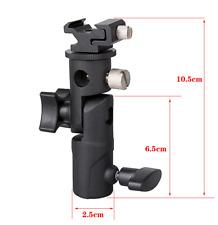 Hot Shoe Umbrella Holder Mount E Type Flash Light Stand Bracket For DSLR Camera