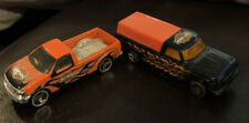 Vintage Hot Wheels Harley Davidson trucks 1979 Ford F-150 And 1997 Ford F-150
