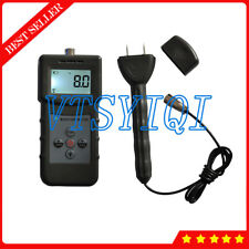MS360 Inductive and Pin Type Multifunctional Wood Paper Moisture Tester Meter
