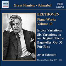 udwig van Beethoven - Piano Works Vol. 10 - Eroica Variations (Schnabel) [CD]