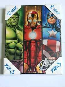 Marvel Avengers Character Canvas Painting (25 x 20 x 2.5cm)