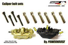 Kawasaki ZX 12 R Ninja 04-06 Stainless joint bolt & pin set front brake calipers