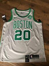 NBA Nike Swingman Boston Celtics Gordon Hayward Jersey Gray City w/ GE Logo XL