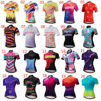 Miloto Ladies Cycling Jersey Shirt Women's Bike Cycle Jersey Top Short Sleeve