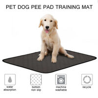 Puppy Dog Toilet Training Pads Pet Cat Pee Train Washable  Reusable Waterproof