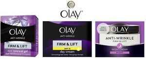 OLAY Anti-Wrinkle FIRM & LIFT Renewal Complex Moisturise Eye Gel/Day Night Cream