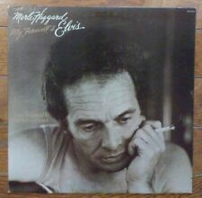 MERLE HAGGARD My Farewell to Elvis Presley vinyl LP MCA Records country album