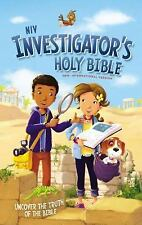 NIV Investigator's Holy Bible, Hardcover : Uncover the Truth of the Bible by...