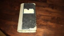 ANTIQUE DIARY NOTEBOOK WW2 PERIOD 1941-1945 AND 1947 1948 AND 1956