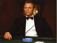 "1716 Daniel Craig 007 James Bond Autograph Autographed 8x10"" Photo"