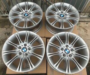 "Genuine BMW MV2 135M E46 3 Series 18"" Alloy Wheels in BMW Silver (Refurbished)"