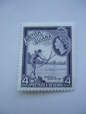 British Guiana QEII 1961 SG334a DLR 4c MM